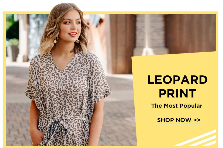 Bellelily Leopard Fashion