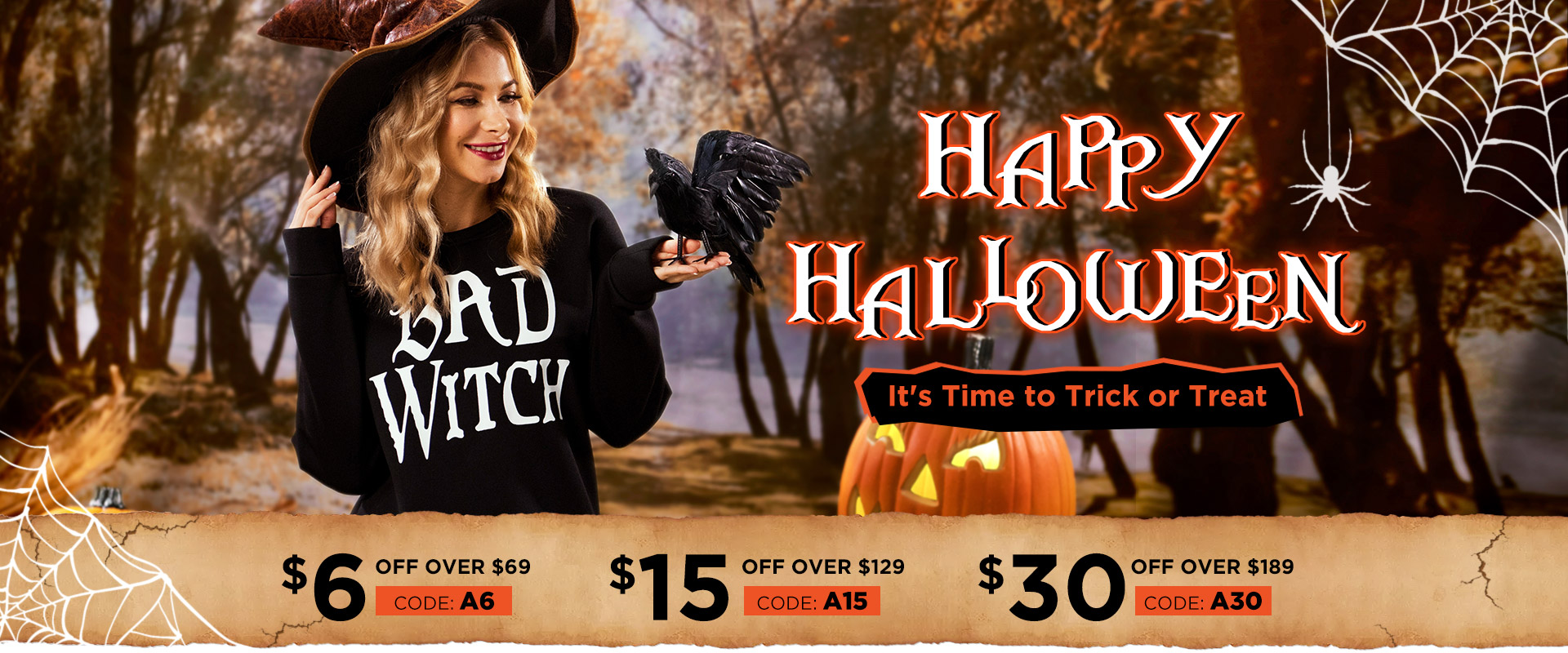 Bellelily Halloween Big Sale